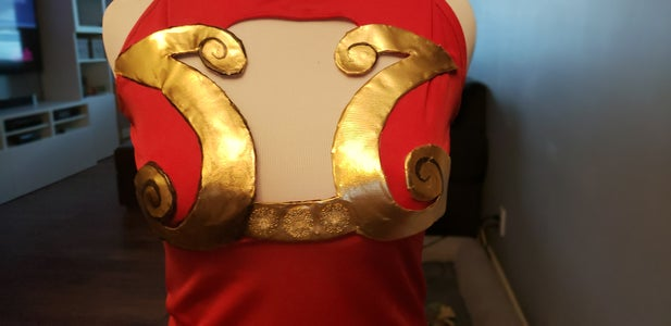 Breast Plate and Shirt