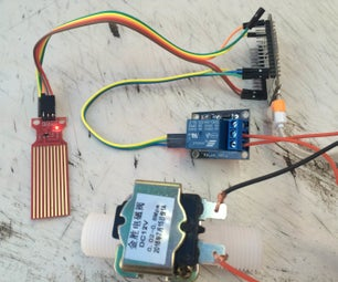 IoT Water Control and Monitor Using NodeMCU & Cayenne