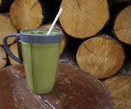 Tasty Green Power Protein Smoothie (veggie only!)