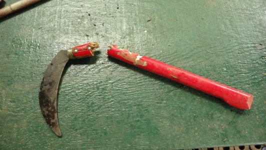 New Tool Handle From Scraps