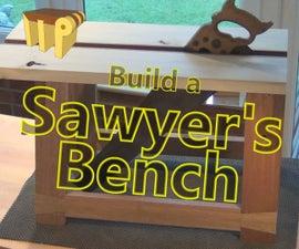 Build a Sawyer's Bench (Free Plans)