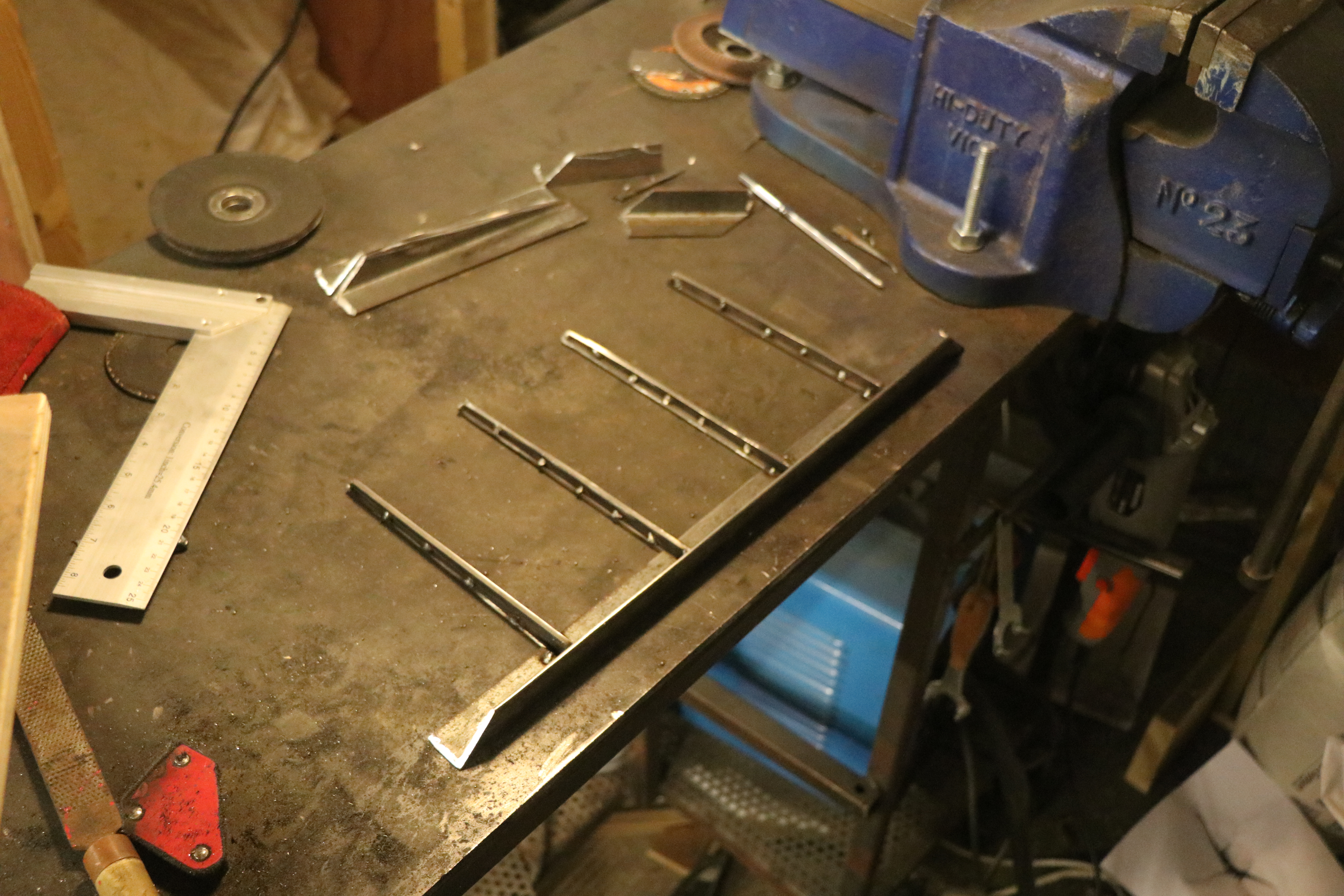 Picture of Create the Stand Structure