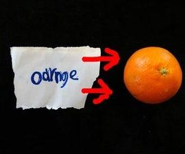 How Ot Do Magic With a Orange