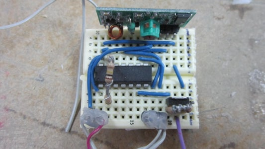 Building the Lamp: Building the Breadboard