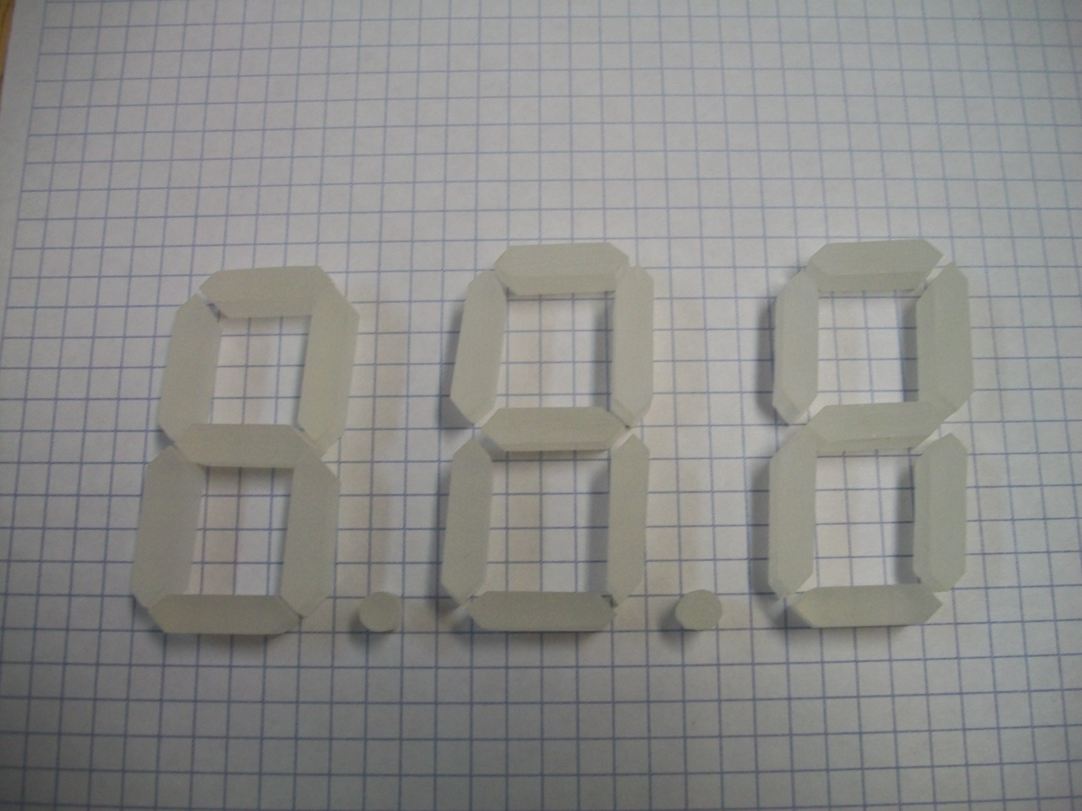 Picture of Digit Plate