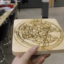 How I made a watch escapement SUN DIAL - I made it at Techshop Detroit!
