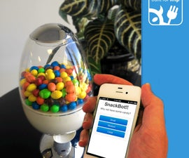 SnackBot: The Internet Connected Candy Machine!