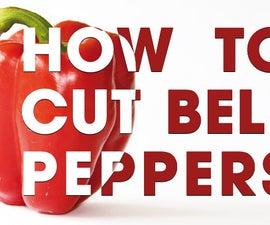 2 Fast Ways to Cut, Deseed, & Devein a Bell Pepper
