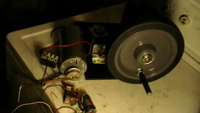 Picture of Desk Top Hand Crank Mechanism for Micro- Generator