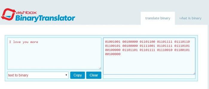 Generate Your Binary