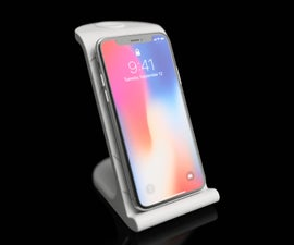 $10 IPhoneX Wireless Charging Stand