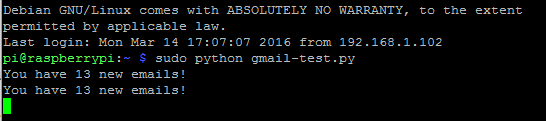 Picture of Setup & Test of Email Notification