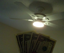 Mount an Inexpensive Led Hall Lamp to a Ceiling Fan