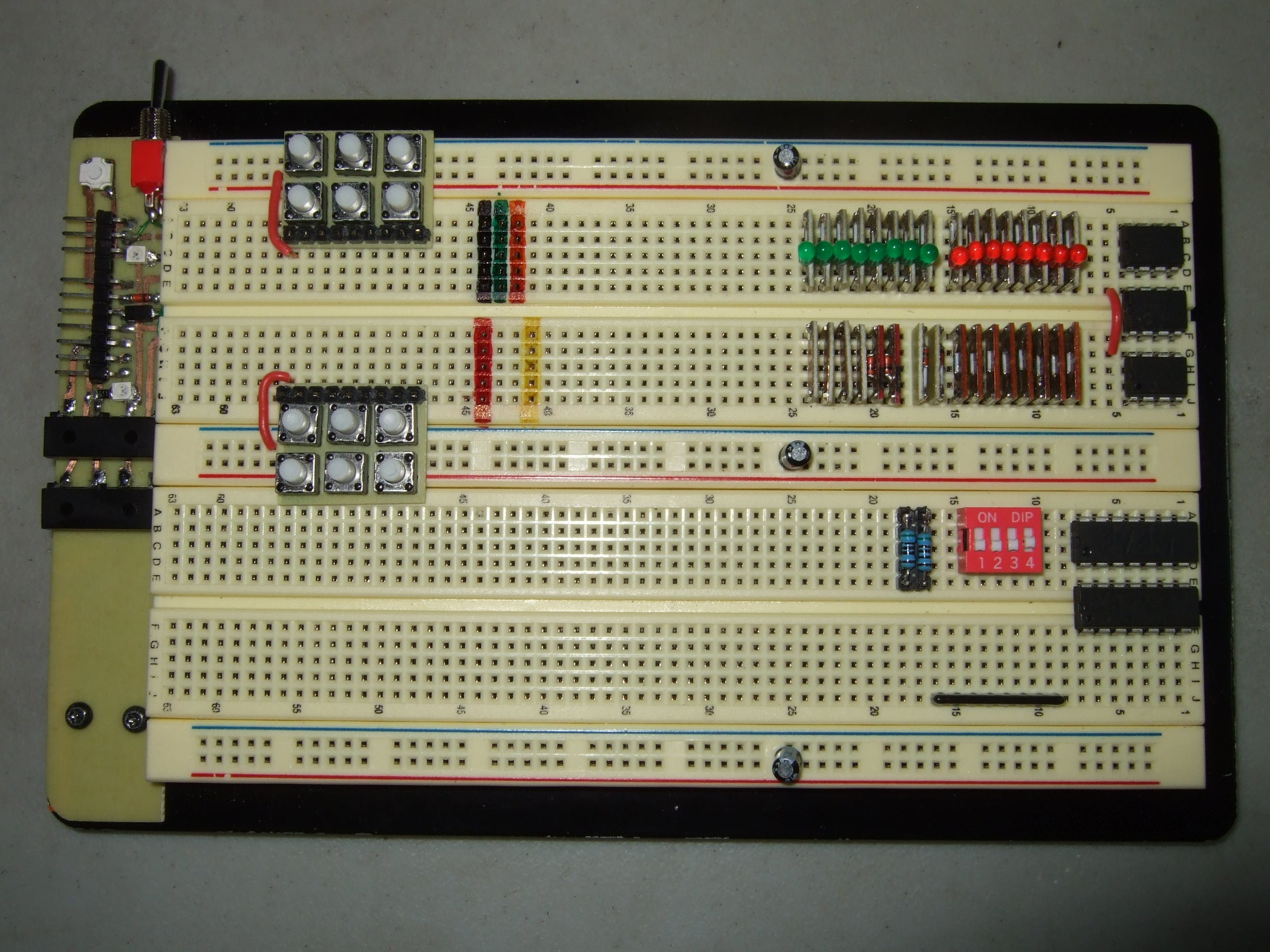 My Top Ten Most Useful Breadboard Tips And Tricks 9 Steps With Fr4 Doubleside Prototype Pcb Universal Printed Circuit Board 8 Size Pictures