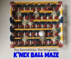 Make Your Own K'nex Ball Maze!