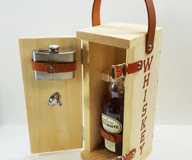Monogrammed Whiskey Gift Box