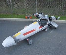 X-Wing Fighter Soapbox Derby Car