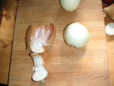 First, Chop Your Onions Coarsely.