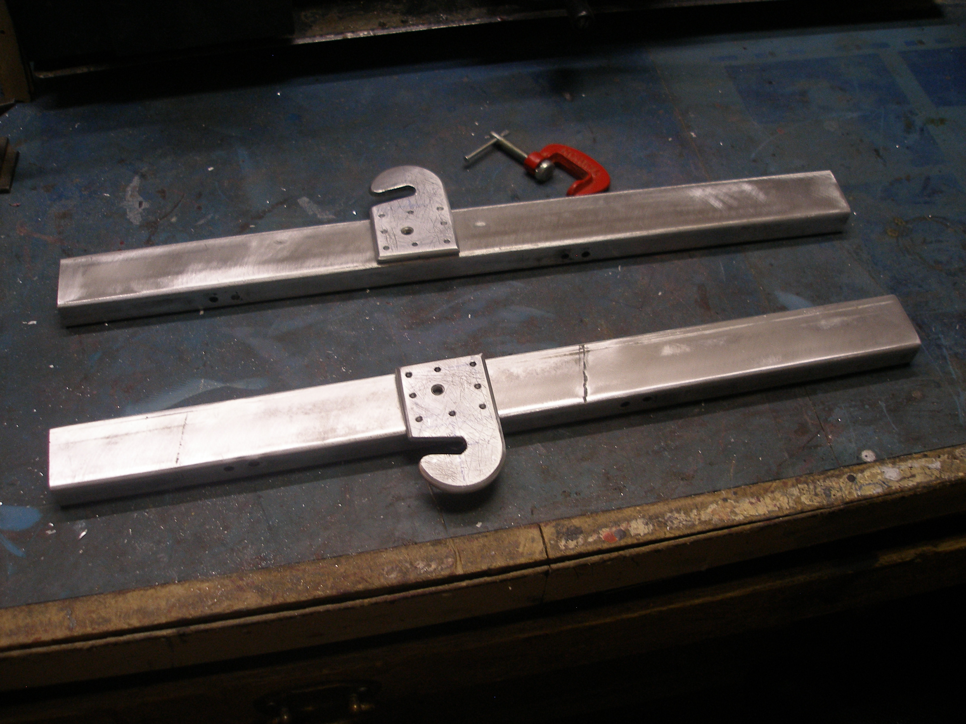Picture of Assembling, Sawing, Rivets and So On...