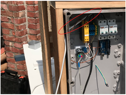 Picture of Wiring the Electrical Box
