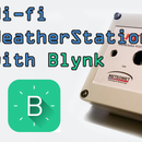 Wi-fi weather station with Bynk
