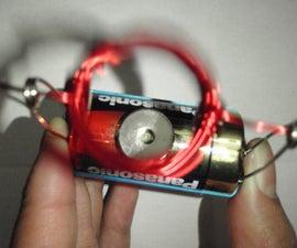 5 Minute DIY Motor