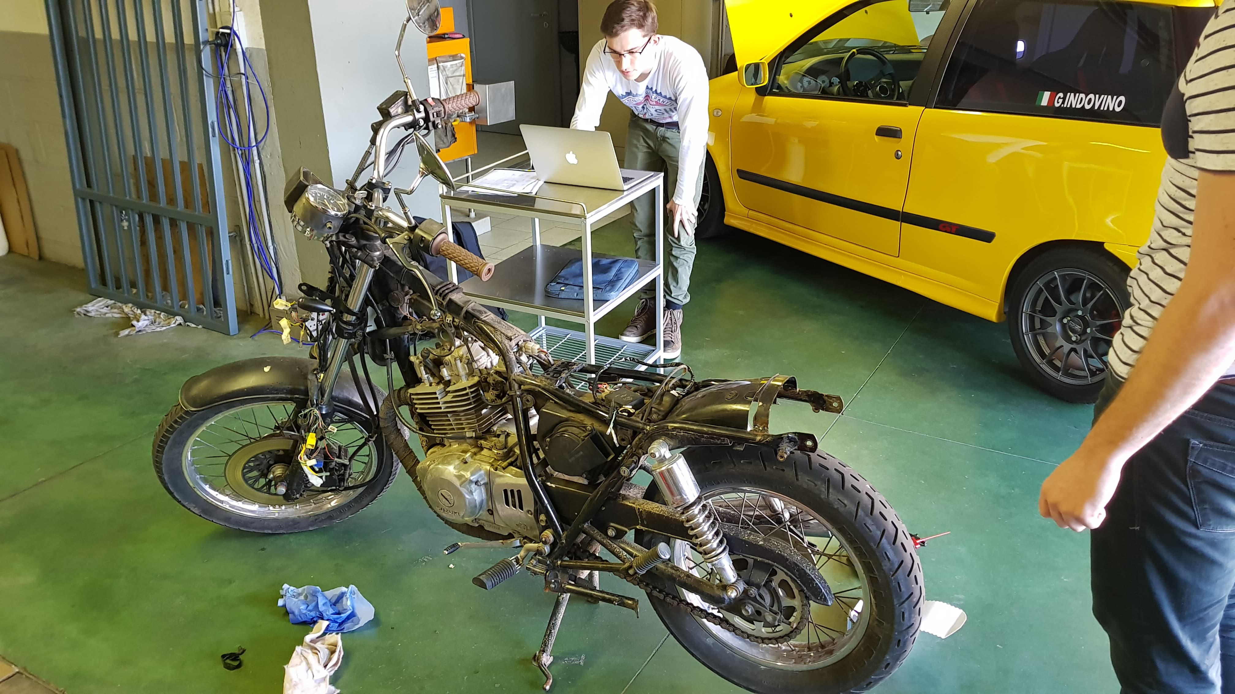 Picture of Step 4: the Application on the Motorbike