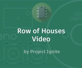 Row of Houses Video