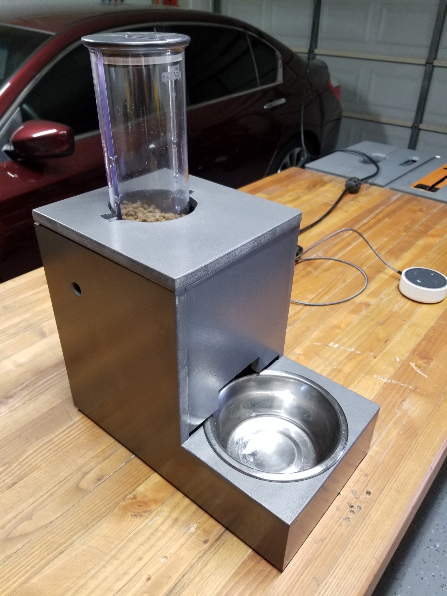 Picture of IoT Cat Feeder Using Particle Photon Integrated With Alexa, SmartThings, IFTTT, Google Sheets