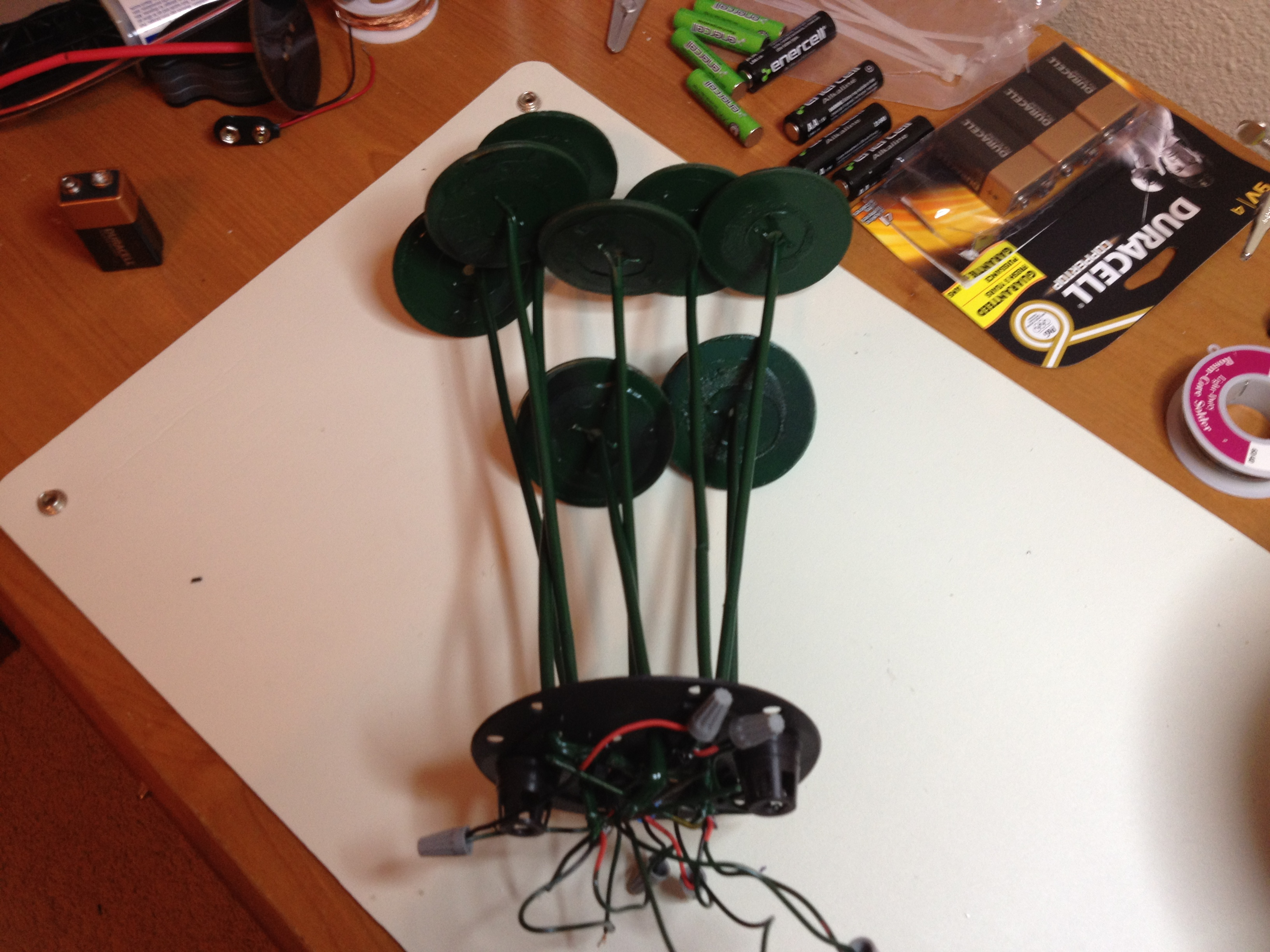Picture of Attaching Stems to the Base