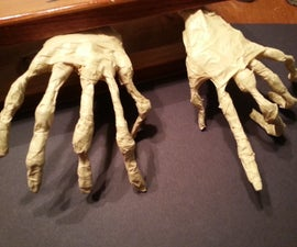 Poseable Mummy Hands