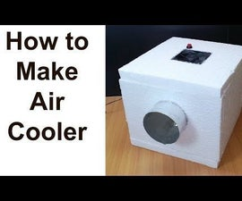 How to Make Air Cooler