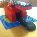 How To Make a Hot-Wheels Garage Out of Lego