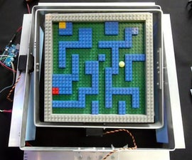 Arduino controlled Marble Maze