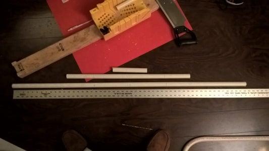 Cut the PVC Pipe