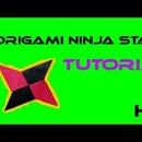 origami ninja star tutorial (shuriken)