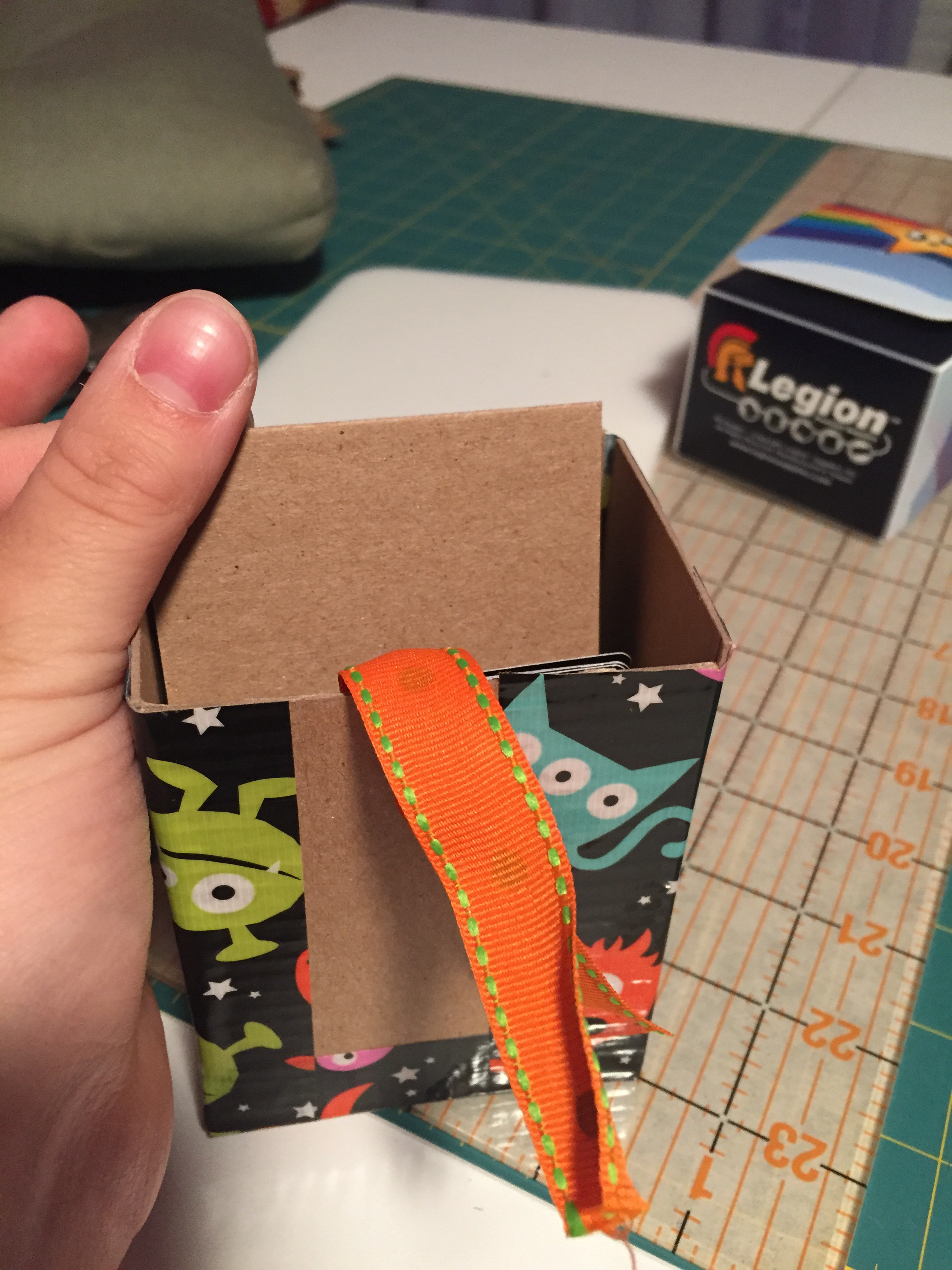 Picture of Put Your Cards In, and a Divider