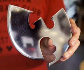 Wu-Tang Clan Pizza Cutter! (Made From an Old Table Saw Blade)