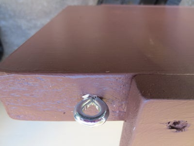 Attaching the Eyebolts