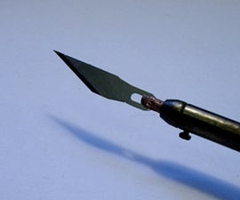 Make a Hot Knife using a soldering iron