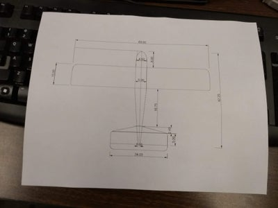 Designing the Plane - Sketches and CAD