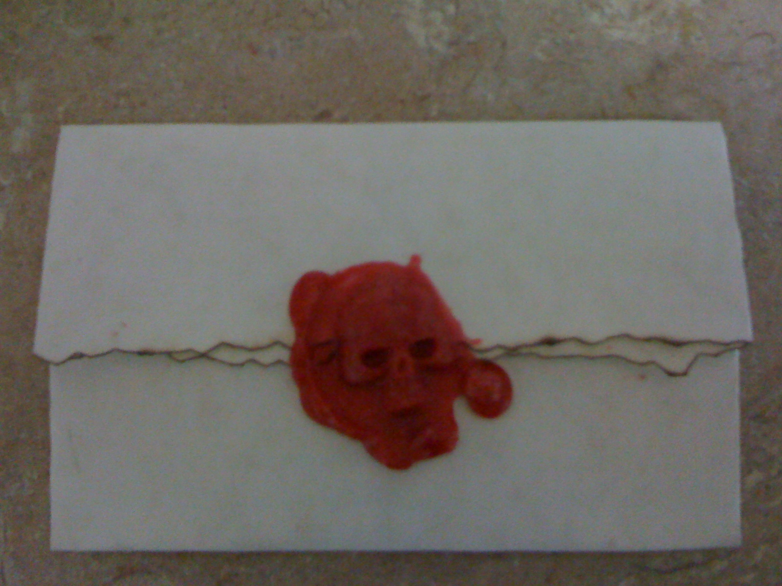 Picture of Pirate Invitations  ( Wax Seal )