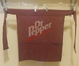 Upcycled T-shirt Apron
