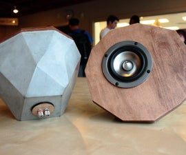 Conspeakuous: Concrete Speakers