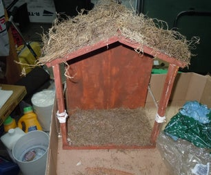 How to Make a Nativity Stable