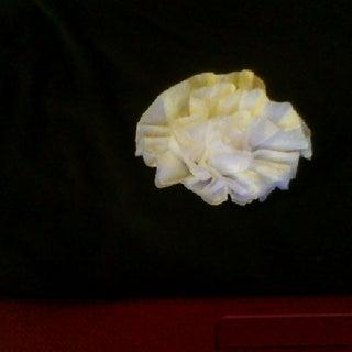 Simple Paper Napkins Flower