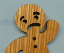 Gingerbread Man Door Stop