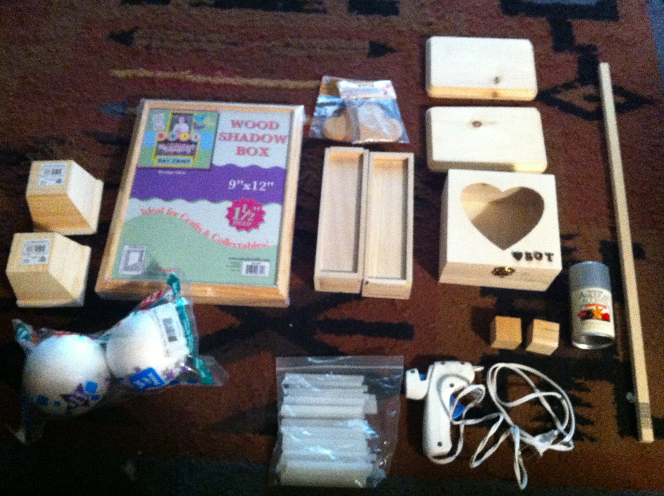 Picture of Items for the Build