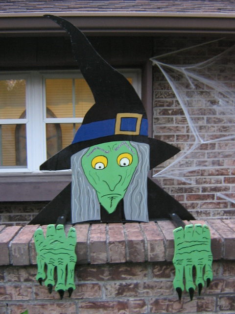 Picture of 3D Wall Witch