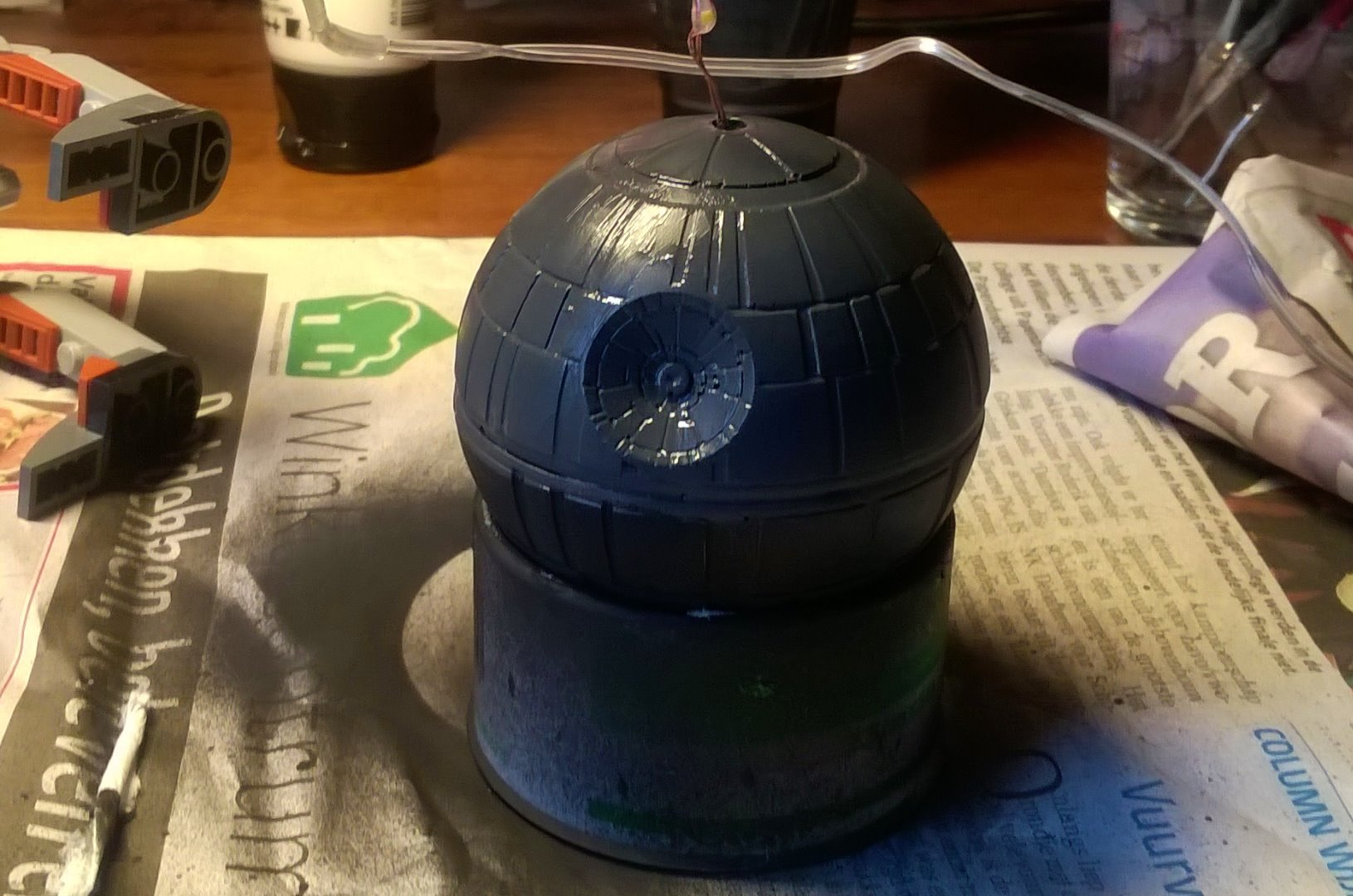 Picture of Painting the Death Star